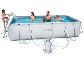 Piscina Desmontable Tubular Bestway Power Steel 404x201x100 Cm Sf