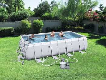 Piscina Desmontable Tubular Bestway Power Steel 549x274x122 Cm Sf