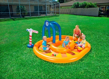 Piscina Hinchable Infantil Bestway Little Caboose