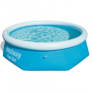 Piscina Desmontable Autoportante Bestway Fast Set 244x66 Cm