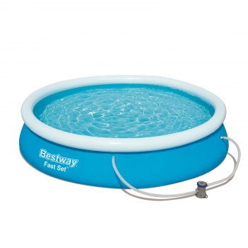 Piscina Desmontable Autoportante Bestway Fast Set 366x76 Cm