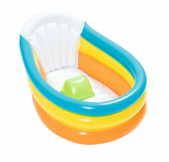 Bañera Hinchable Bestway Up, In & Over Squeaky 76x48x33 Cm