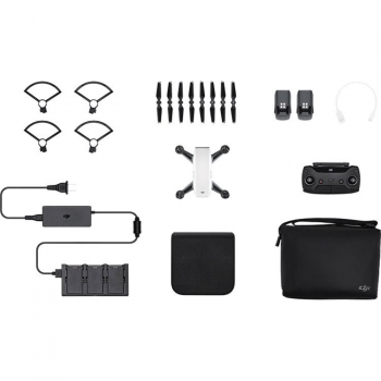 Dji Spark Fly More Combo Drone Alpine White