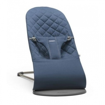 Transat Babybjorn Bliss Bleu Nuit Cotton