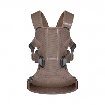 Porte-bébé One Air Babybjorn Chocolat Mesh