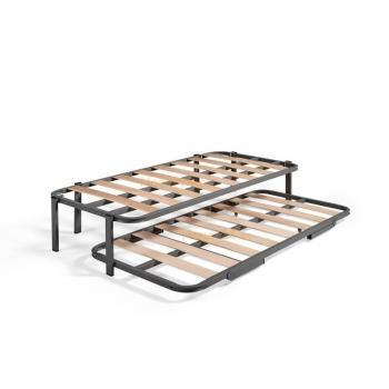 Somieres baratos y bases para colchones for Estructura cama 90x190