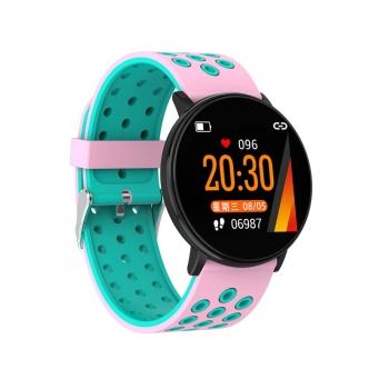 Lkstech® Smartwatch-reloj Deportivo Inteligente Bluetooth Unisex Multi-fuccion Con Presión Arterial Con Seguimiento Deportivo Notificaciones Redes Sociales Whatsapp Para Android Ios Rosa