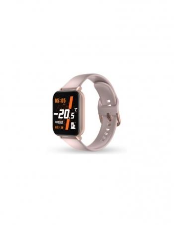 Smartwatch Lkstech® Unisex Con Control De Temperatura Integrado Para Adultos Y Niños .pantalla Táctil Para Android Y Ios, Rosa