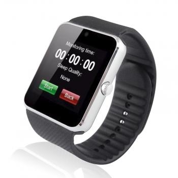Smartwatch Lkstech® Smartwatch Multifuncional Bluetooth Pulsera Silicona Plata.