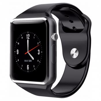 Smartwatch Lkstech®   Bt Multi-función Cámara Integrada, Altavoz,micrófono Y Slot Para Tarjeta Sim Negro