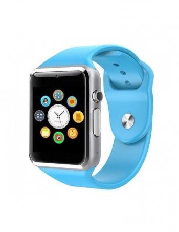 Smartwatch Lkstech®   Bt Multi-función Cámara Integrada, Altavoz,micrófono Y Slot Para Tarjeta Sim Azul