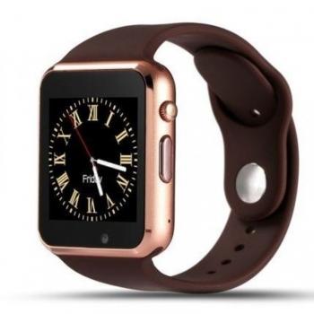 Smartwatch Lkstech®   Bt Multi-función Cámara Integrada, Altavoz,micrófono Y Slot Para Tarjeta Sim Dorado