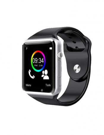 Smartwatch Lkstech®   Bt Multi-función Cámara Integrada, Altavoz,micrófono Y Slot Para Tarjeta Sim Silver