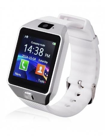 Smartwatch Lkstech®   Multi-función Bt,cámara Frontal,slot Para Tarjeta Sim Y Microsd Blanco V1
