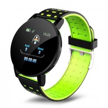 Smartwatch Lkstech® Reloj Inteligente Bluetooth Unisex Multi-función Ip67 Para Android/ios, Verde