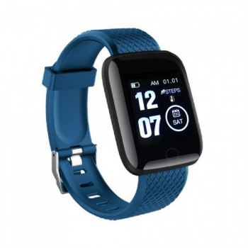 Smartwatch Lkstech® Reloj Inteligente, Pantalla Táctil Oled  Ip67 Para Android Y Ios, Azul