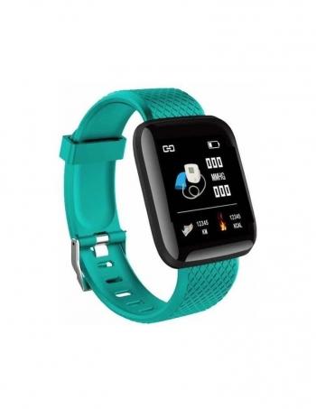 Smartwatch Lkstech® Reloj Inteligente, Pantalla Táctil Oled  Ip67 Para Android Y Ios, Verde