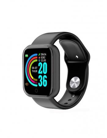 Smartwatch Lkstech® Reloj Inteligente Bluetooth Unisex Multi-función Ip67 Para Android/ios Negro