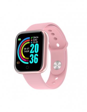 Smartwatch Lkstech® Reloj Inteligente Bluetooth Unisex Multi-función Ip67 Para Android/ios Rosa