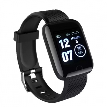 Smartwatch Lkstech® Reloj Inteligente, Pantalla Táctil Oled  Ip67 Para Android Y Ios, Negro
