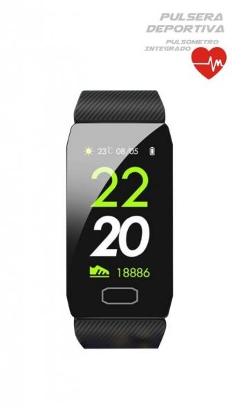 Smartwatch Lkstech® Smartband Pantalla Táctil Oled, Protección Salpicaduras Ip67 Compatible Con Android/ios