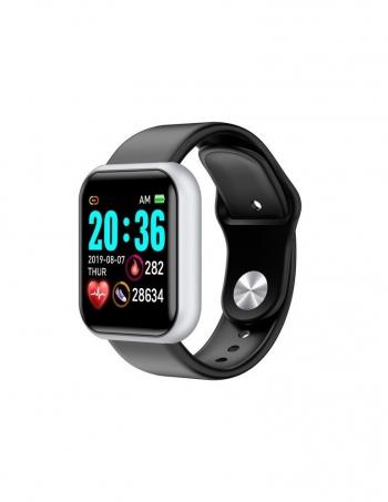 Smartwatch Lkstech® Reloj Inteligente Bluetooth Unisex Multi-función Ip67 Para Android/ios Plata
