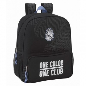 Mochila Real Madrid Black 38 Cm Adaptable