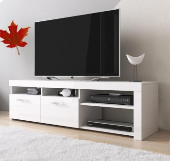 Mueble Tv Modelo Clio (140x40cm) Color Blanco