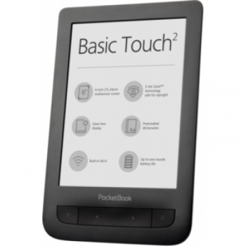 Pocketbook Basic Touch 2 - Negro