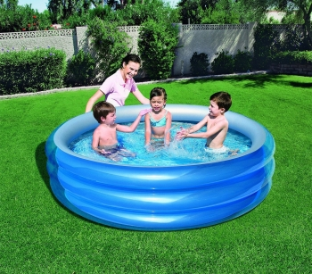 51043 Piscina Inflable Bestway 3 Anillos 201 X 53 Cm Reflectante Interior