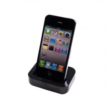296cce1da8d Cargador Base Sincronizador Datos Compatible Iphone 3/3g Y 4/4s Docking  Station