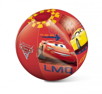 Pelota Playa Hinchable De Cars