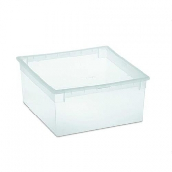 Caja Ordenacion Light Box M 12l. Transparente
