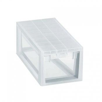 Caja Ordenacion Light Drawer S 7l.transparente