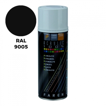 Spray Ral 9005 Negro Satinado