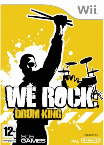 We Rock: Drum King Wii