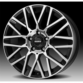 Llanta Momo Revenge Evo 6,5x15 Et18 4x108 Black Matt, Polished 65,1 Via