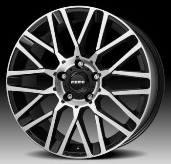 Llanta Momo Revenge Evo 7,0x16 Et18 4x108 Black Matt, Polished 65,1 Via