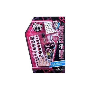Monster High Decoracion Uñas