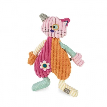 Peluche Patchwork Gatita Walking Mum
