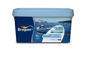 Pintura Plástica Mediterraneo Azul Colores Del Mundo 4 L 975098431 Con Ofertas En Carrefour Las Mejores Ofertas De Carrefour