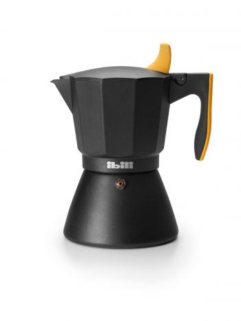 Cafetera Express Essential Inox 6 Tazas IBILI 620306