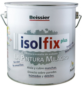 Pintura Antimanchas Isolfix Plus 4 L.