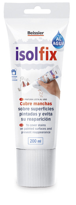 Pintura Antimanchas Isolfix Al Agua 200 Ml