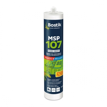 Adhesivo Sellador Msp107 Blanco 290 Ml