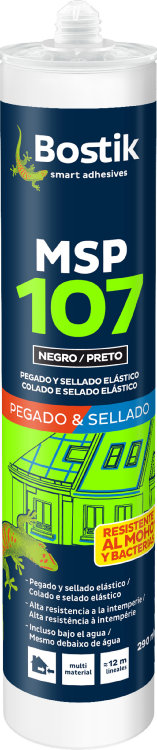 Adhesivo Sellador Msp107 Negro 290 Ml