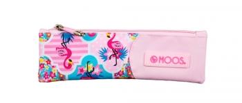 Moos Flamingo Pink Oficial Monedero 95x30x80mm
