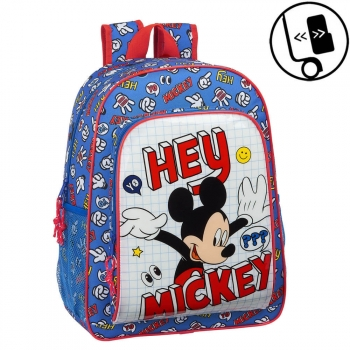Mochila Mickey Things Adaptable