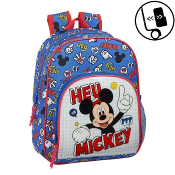 Mochila Mickey Things Infantil Pequeña