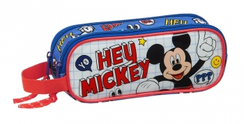 Estuche Mickey Things Doble